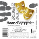 Haandbryggeriet Sweet & Sour beer