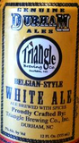 Triangle Belgian White Ale beer