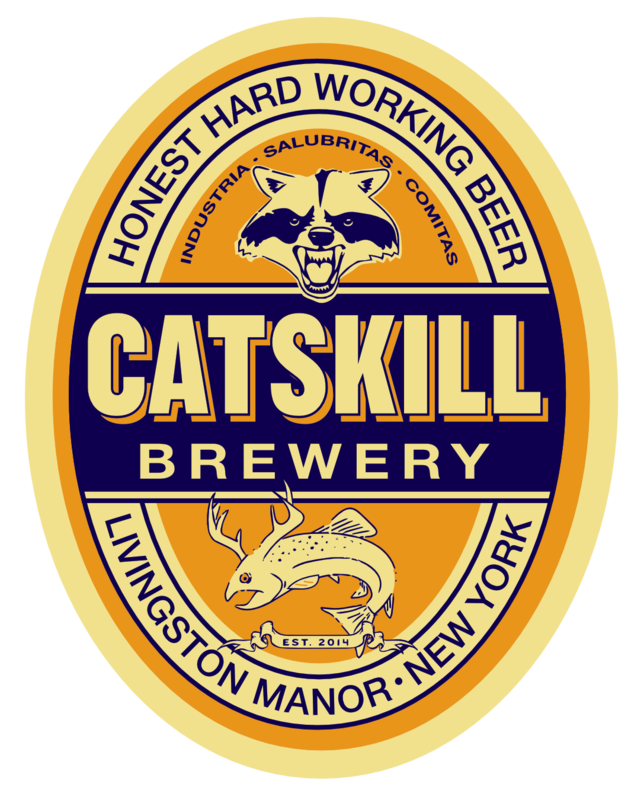 """Catskill Bourbon-Maple Imperial Stout """"Catskill Cubed"""" beer Label Full Size"""