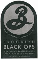 Brooklyn Black Ops 2016 Beer