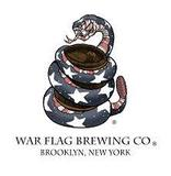 War Flag Lady Justice Stout beer