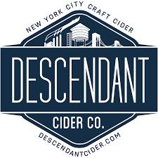 Descendant Pomegranate & Ginger Cider beer Label Full Size