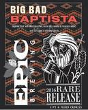 Epic Big Bad Baptista Mexican Coffee beer