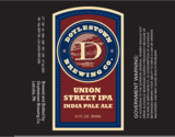 Doylestown Union Street IPA beer