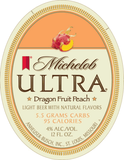 Michelob Ultra Dragon Fruit Peach Beer