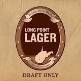 Bridge Brew Works Long Point Lager beer