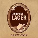 Bridge Brew Works Long Point Lager Beer