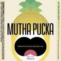 Next Door MuthaPucka Pineapple Sour beer Label Full Size