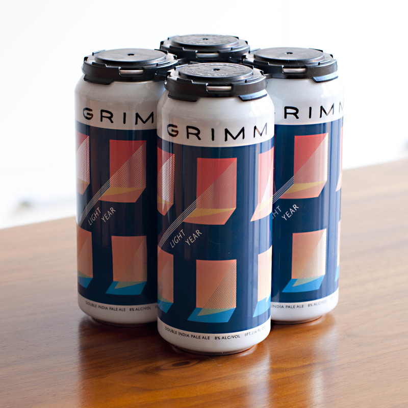 Photo Of Grimm Light Year Beer Label