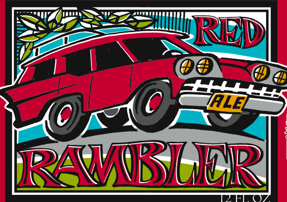 Peace Tree Red Rambler beer Label Full Size