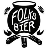 Folksbier Glow Up beer