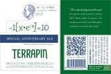 Terrapin 10th Anniversary beer