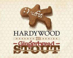 Hardywood Gingerbread Stout 2015 beer Label Full Size