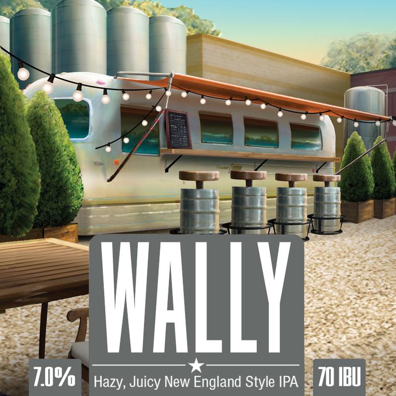 Wachusett Wally New England IPA beer Label Full Size