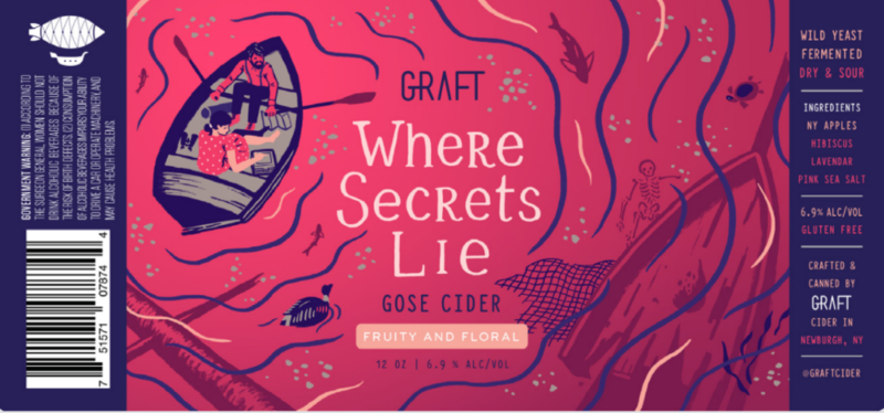 Graft Where Secrets Lie beer Label Full Size
