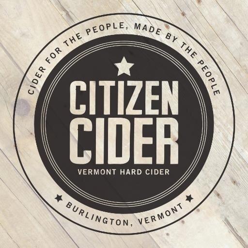 Citizen Cider Mr. Burlington beer Label Full Size