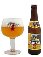 Abbaye de Forest beer Label Full Size