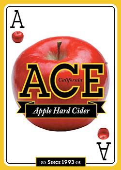 Ace Apple Hard Cider beer Label Full Size