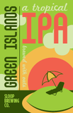 Sloop Green Islands IPA beer