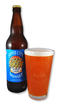 Silver City Ziggy Zoggy Summer Lager beer Label Full Size