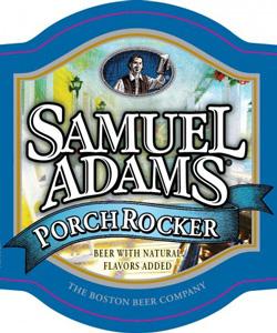 Sam Adams Porch Rocker beer Label Full Size