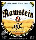 Ramstein Ink Black Lager beer