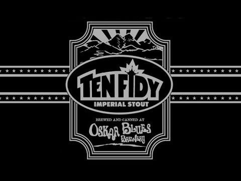 Oskar Blues Barrel Aged Ten Fidy 2015 beer Label Full Size
