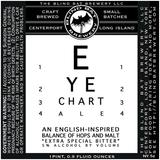 Blind Bat Eye Chart Ale beer