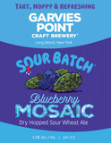 Garvies Point Sour Batch Blueberry Mosaic beer