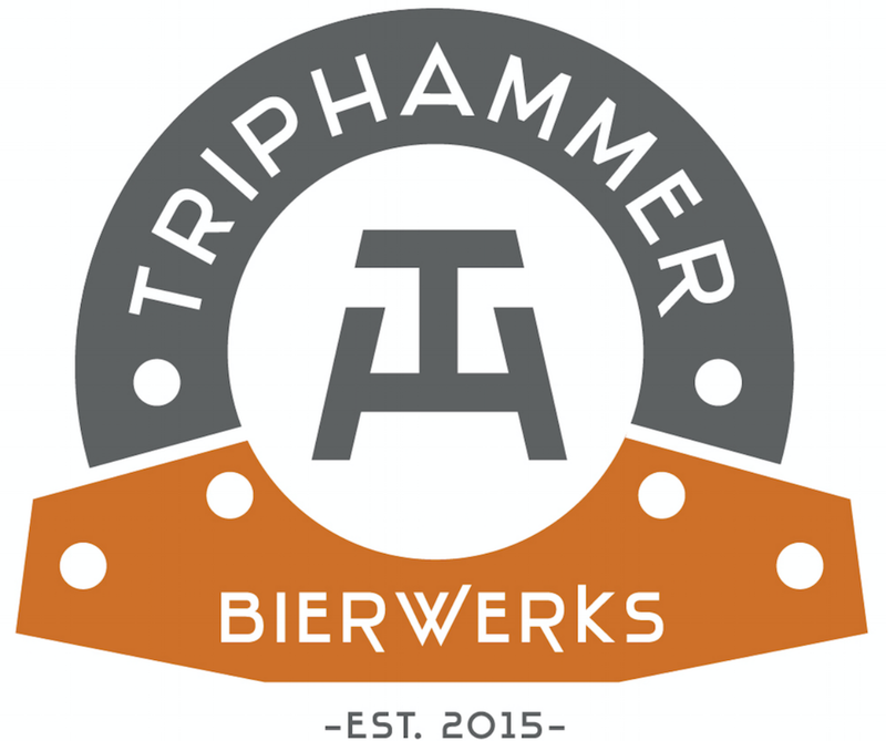 Triphammer IPA beer Label Full Size