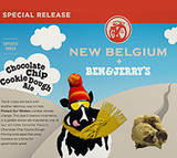 New Belgium Choclate Chip Cookie Dough beer Label Full Size