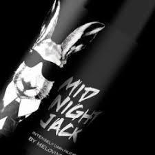 Melovino Midnight Jack beer Label Full Size