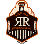 Rusty Rail Snow Flyer beer Label Full Size