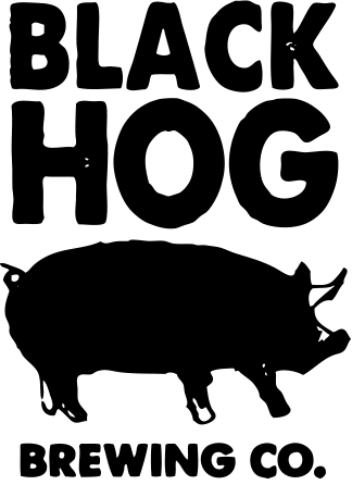 Black Hog Leaves a Mark beer Label Full Size