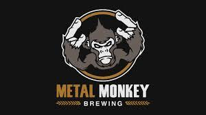 Metal Monkey Burninator beer Label Full Size