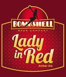 Bombshell Lady In Red Ale beer