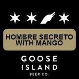 Goose Island Hombre Secreto Saison Tequila Barrel-aged with Mango Beer