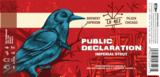 Lo Rez - Public Declaration beer