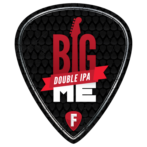 Fairfield Craft Ales Big Me beer Label Full Size