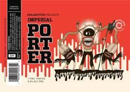 Collective Arts Imperial Porter beer Label Full Size