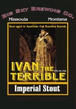 Big Sky Ivan the Terrible Beer