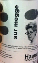Haandbryggeriet Sur Megge beer Label Full Size