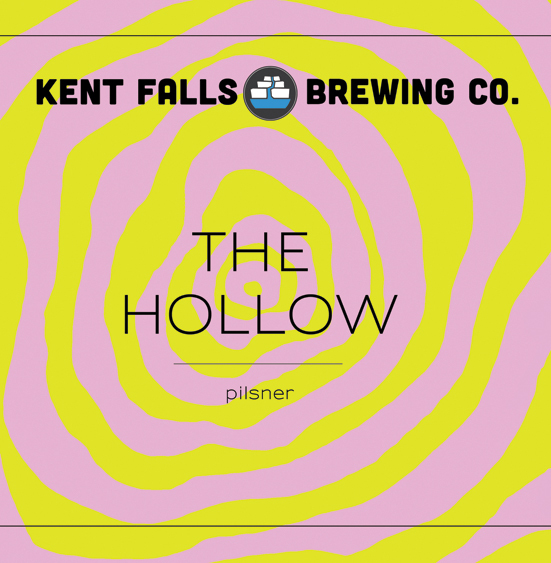 Kent Falls The Hollow beer Label Full Size
