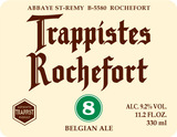 Trappistes Rochefort 8 2014 Beer