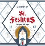 Brewer's Art Barrel Aged St. Festivus beer