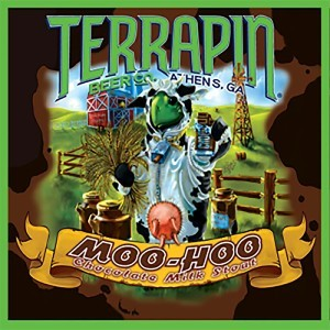 Terrapin Moo Hoo Chocolate Milk Stout beer Label Full Size