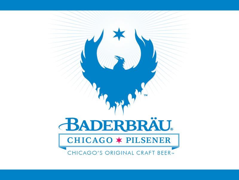 Baderbrau Chicago Pilsener beer Label Full Size