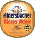 Aldersbacher Kloster Weisse Hell beer