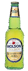 Coors Molson Golden beer Label Full Size