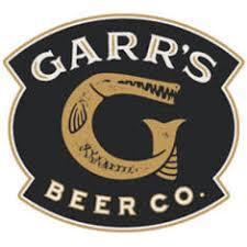 Garr's Red Vanilla Porter beer Label Full Size